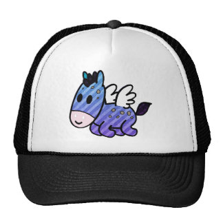 Purpley baby Unicorn Trucker Hats