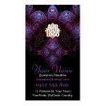 Purplezee v2 Fractal Business Card