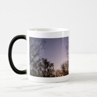Purplish Evening Skies Magic Mug