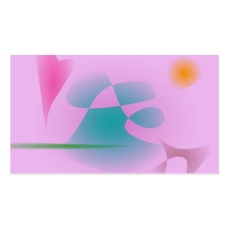 Purplish Pink Double-Sided Standard Business Cards (Pack Of 100)