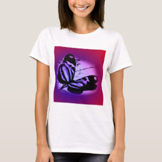 Purplish Pink Butterfly T-Shirt