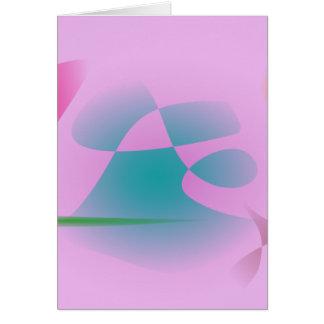 Purplish Pink Card