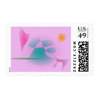 Purplish Pink Stamps