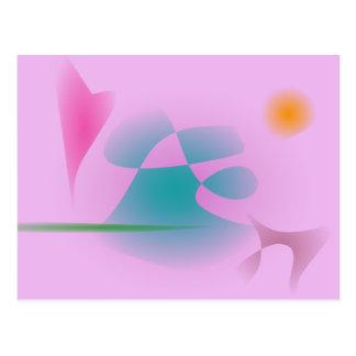 Purplish Pink Postcard