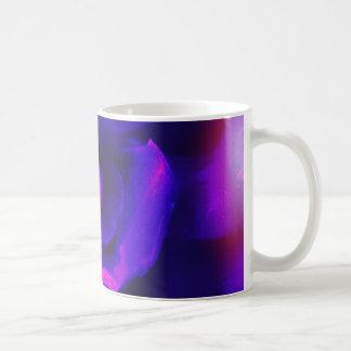Purplish rose rays coffee mug