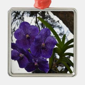 PURPLR ORCHID RURAL QUEENSLAND AUSTRALIA METAL ORNAMENT