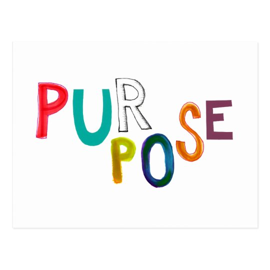 Purpose meaning use identity fun colorful word art ...