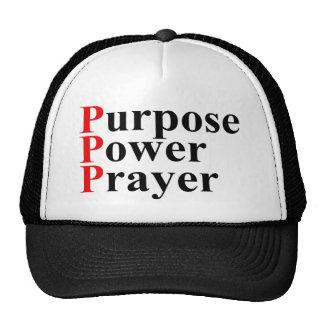 Purpose Power Prayer Trucker Hat