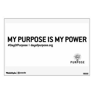Purpose Wall Header Decal: 12 x 18 Wall Sticker