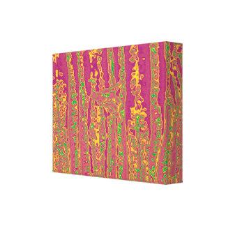 Purpule Rich Color Streaks Presentation Canvas Print