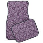 Púrpura abstracta del modelo alfombrilla de coche