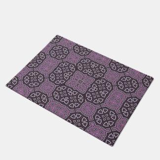 Púrpura abstracta del modelo felpudo