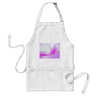 Púrpura abstracta delantales