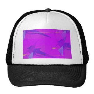 Púrpura abstracta gorros