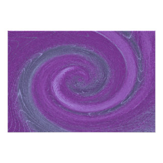 Púrpura abstracta poster