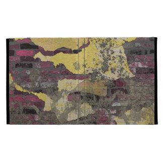 Púrpura amarilla TPD de la pared de ladrillo