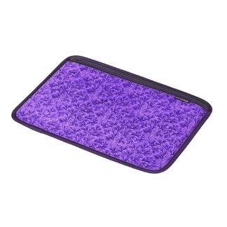 Púrpura Amethyst de la hoja floral del cordón del Funda MacBook