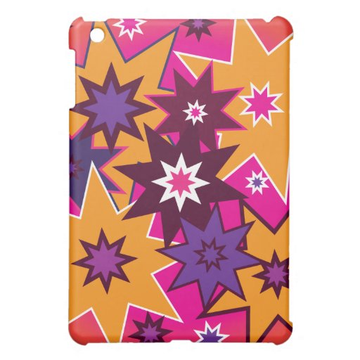 Púrpura anaranjada de estrella de la diversión del