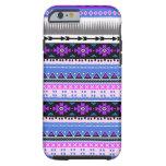 Púrpura azteca y ciruelo funda de iPhone 6 tough