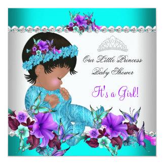Púrpura azul 3 del trullo del chica de la princesa anuncio personalizado