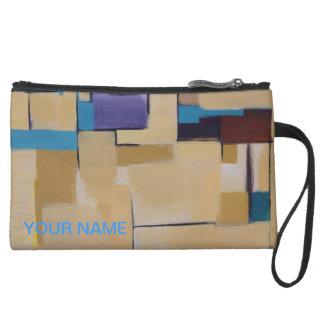Púrpura azul abstracta moderna de moda del embragu