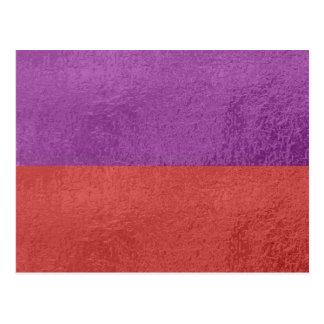 Púrpura azul de la chispa n del satén que brilla i tarjeta postal