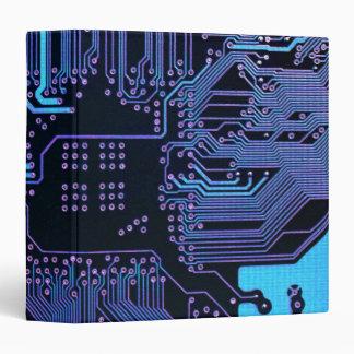 """Púrpura azul fresca del ordenador de placa de circ carpeta 1 1/2"""""""