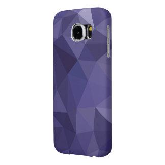 Púrpura Bajo-Polivinílica Funda Samsung Galaxy S6
