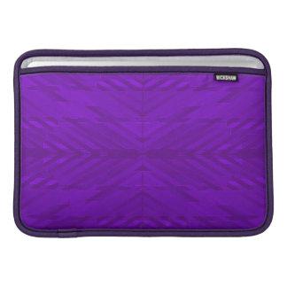 Púrpura brillante con el modelo sutil fundas macbook air