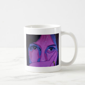 Púrpura cambiante taza de café