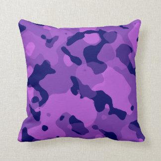 Púrpura Camo de la uva; Camuflaje Cojín Decorativo