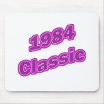 Púrpura clásica 1984 tapetes de ratón