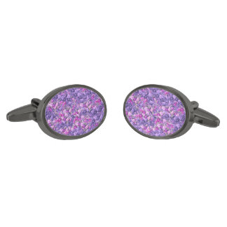 Púrpura color de rosa gótica de la lavanda del gemelos plomizos
