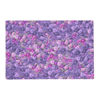 Púrpura color de rosa gótica de la lavanda del salvamanteles