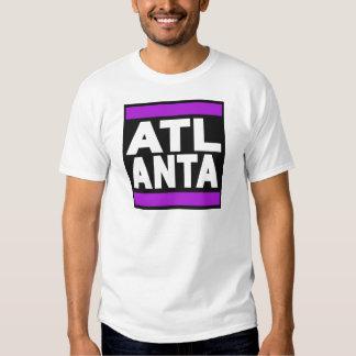 Púrpura de Atlanta Remeras