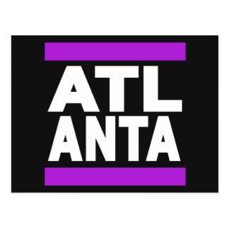 Púrpura de Atlanta Tarjetas Postales
