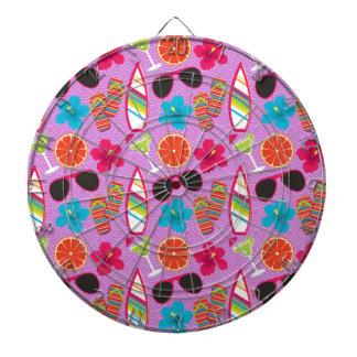 Púrpura de Beachball de las gafas de sol de los fl Tablero De Dardos