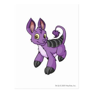 Púrpura de Bori Tarjeta Postal