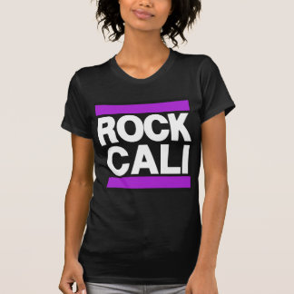 Púrpura de Cali de la roca Camisetas