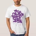 Púrpura de Dubstep FatCap Kush Playera