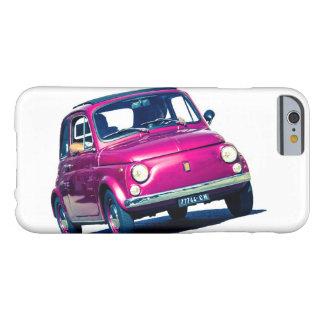 Púrpura de Fiat 500 en Italia, Roma, caso de Funda De iPhone 6 Barely There
