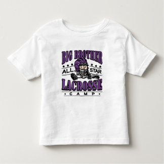 Púrpura de hermano mayor LaCrosse Playera De Bebé