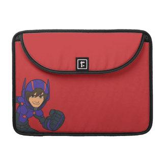 Púrpura de Hiro Hamada Funda Para Macbooks