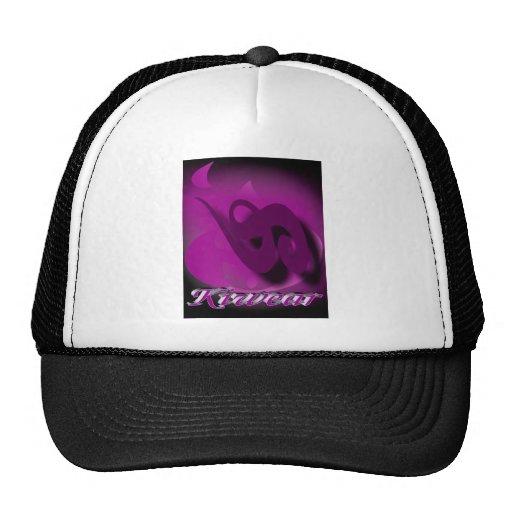 Púrpura de Kiwear Gorras