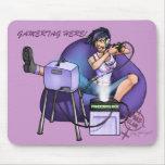Púrpura de la caja de Pandora de PMS Mousepad- Tapete De Raton