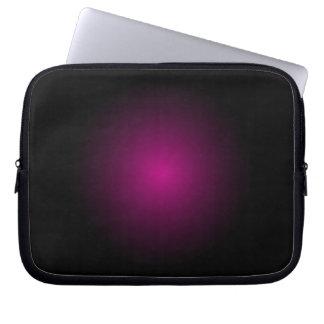 Púrpura de la caja del ordenador portátil de la mangas portátiles
