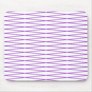 púrpura de la cerca de la malla de alambre alfombrillas de ratones