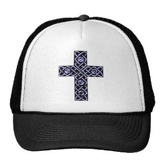Púrpura de la cruz céltica 7 gorros