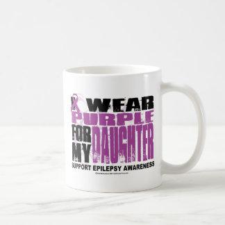 Púrpura de la epilepsia para la hija taza