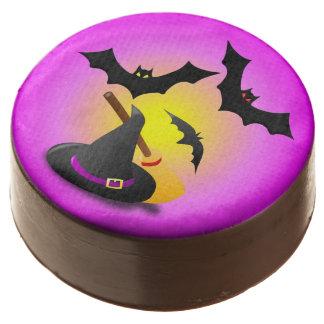 Púrpura de la escoba del gorra y rosa del palo
